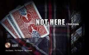 Rizki Nanda & RN Magic Presents – Not Here (Video + pdf)