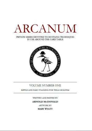 Arnold McDonald – Arcanum Vol 1