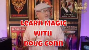 Doug Conn – Alakazam Online Academy – 18TH MAY AT 7PM UK TIME