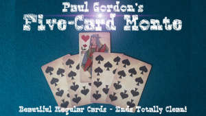 Paul Gordon – Five Card Monte (Cards not included, cards are ungimmicked)