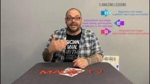 Alakazam Online Magic Academy – Craig Petty Coin Academy Lesson One Beginners