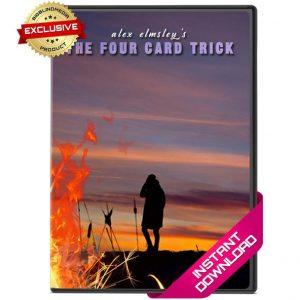 Alex Elmsley – The Four Card Trick
