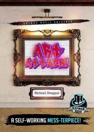 Michael Breggar & Kaymar Magic – Art Attack (Cards not included, but DIYable)