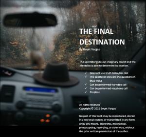 Boyet Vargas – The Final Destintion (eBook)
