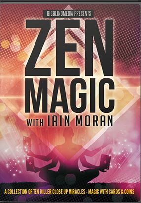 Iain Moran – Zen Magic – Magic With Cards and Coins (all 2 Volumes)
