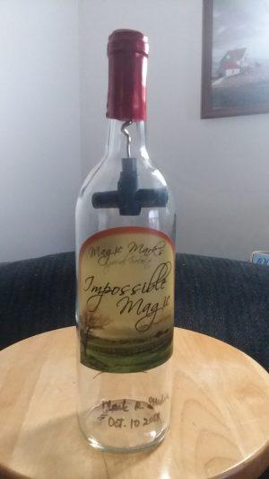 Mark R. Gladue – Inverted Corkscrew Inside Bottle (Impossible Bottle)