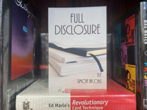 Preorder: Simon Jacobs – Full Disclosure