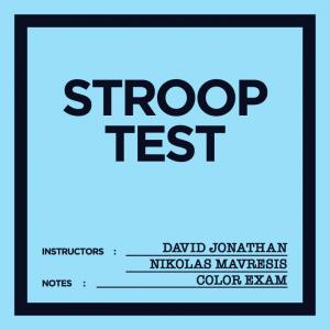 David Jonathan & Nikolas Mavresis – Stroop Test (template pdf included)