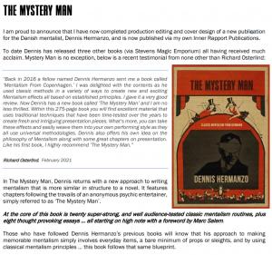Dennis Hermanzo – The Mystery Man