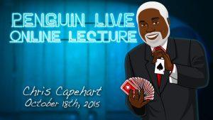 Chris Capehart – Penguin LIVE Lecture (October 18th, 2015)