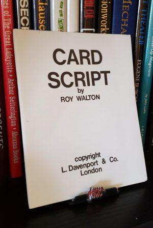 Roy Walton – Card Script